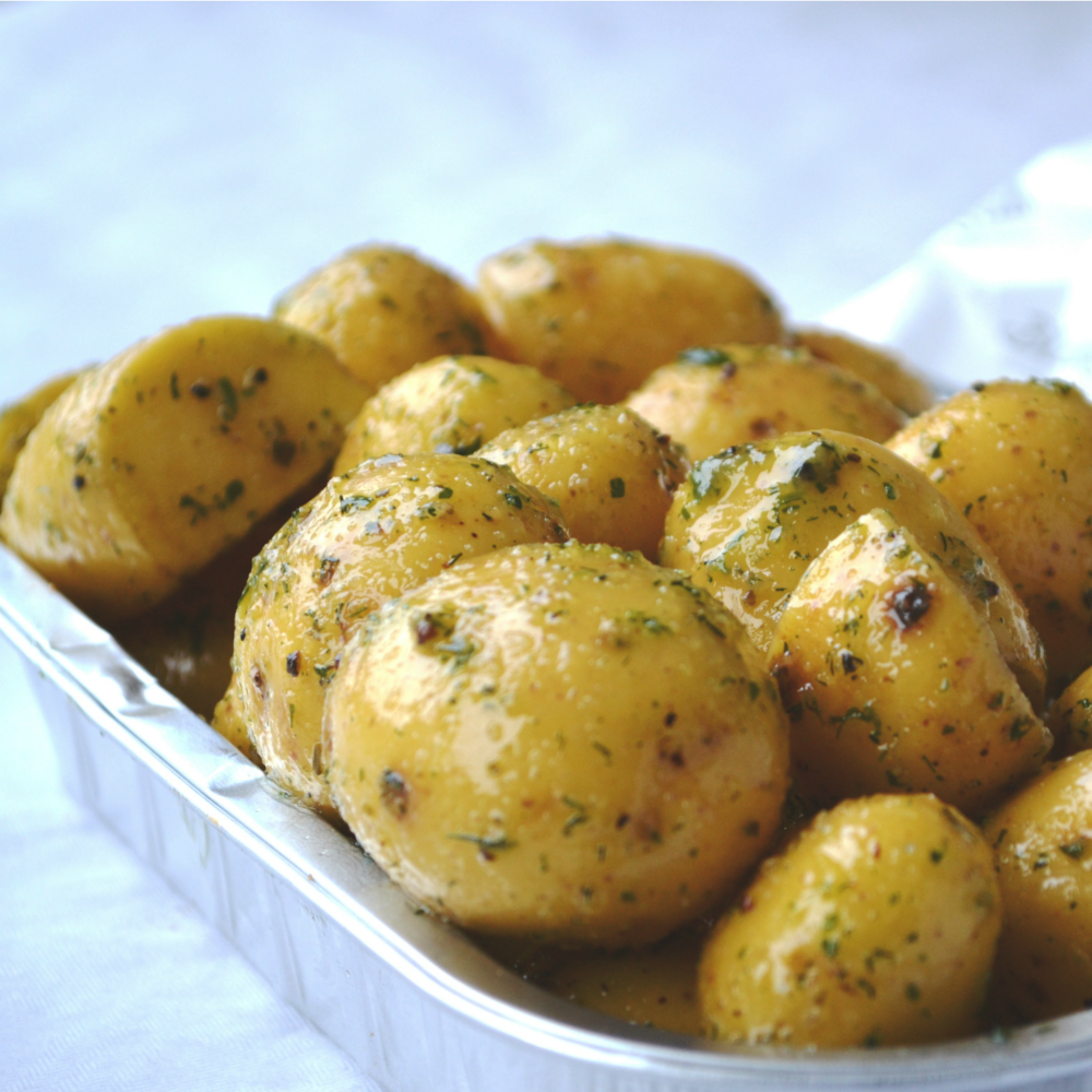 salt and black pepper potatoes