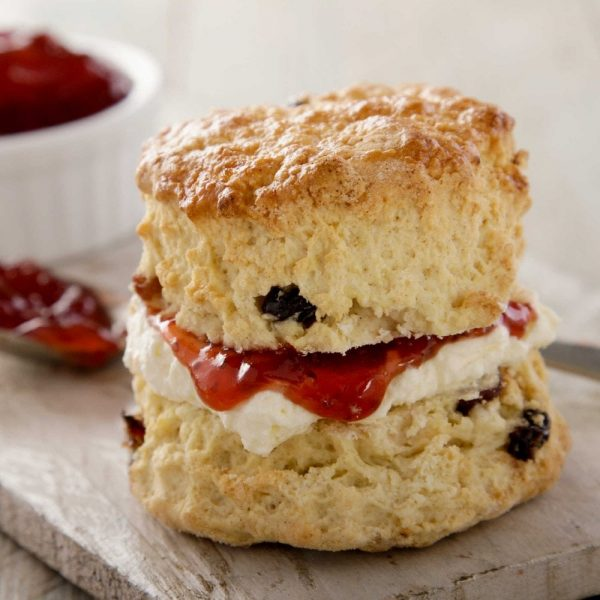 Filled Scone