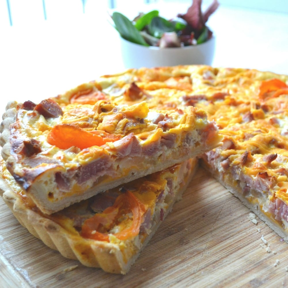Homemade Individual Quiche