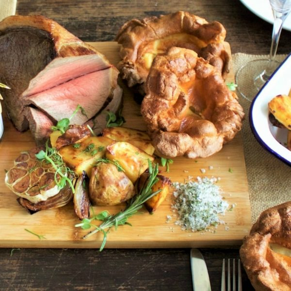homemade yorkshire pudding