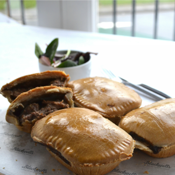 minted lamb and leek pie