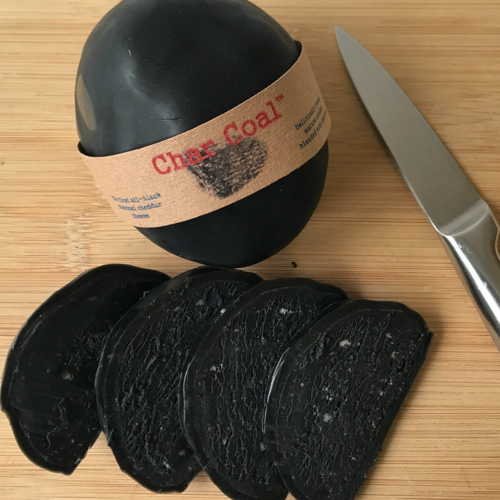 Smokey Charcoal Cheese