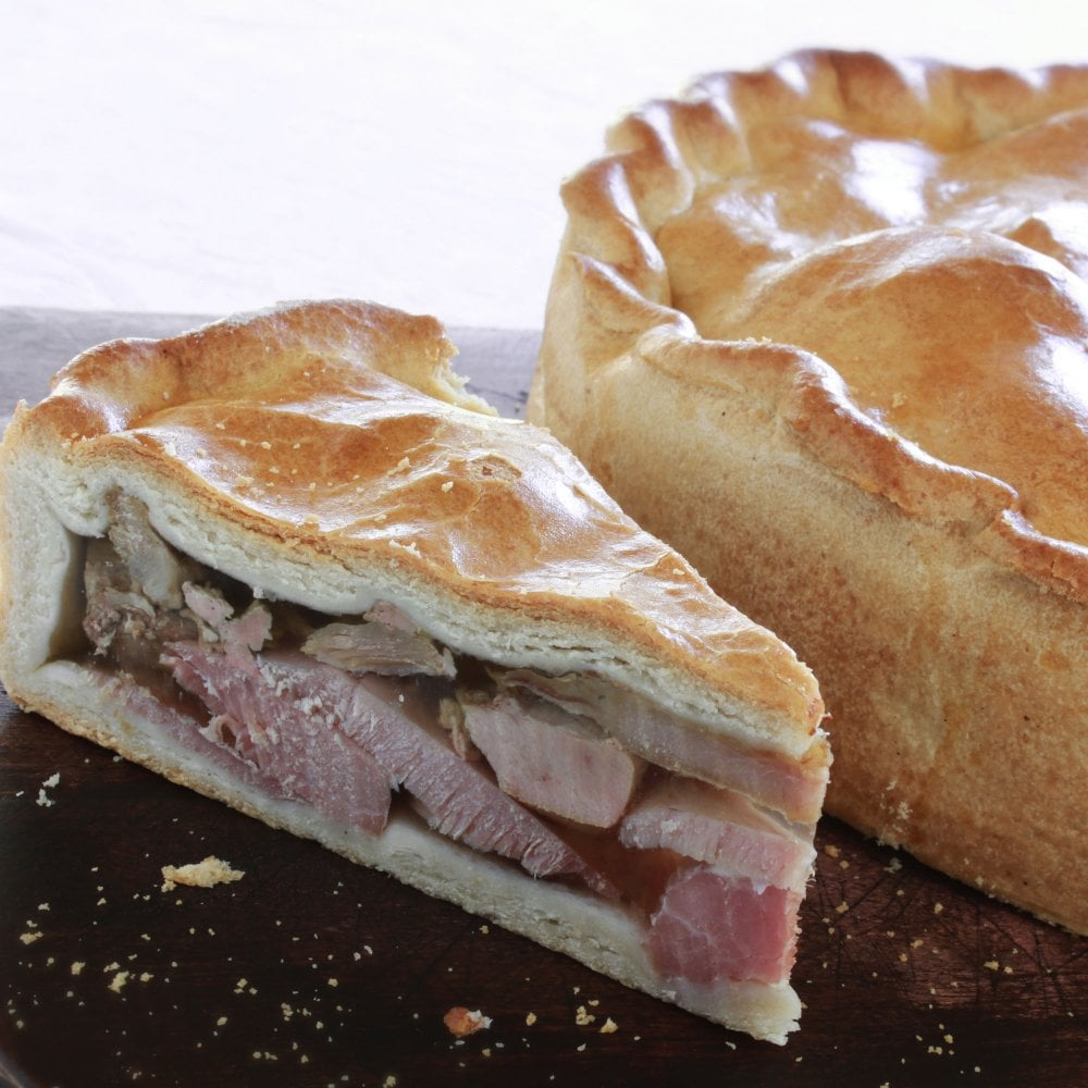 turkey ham pie